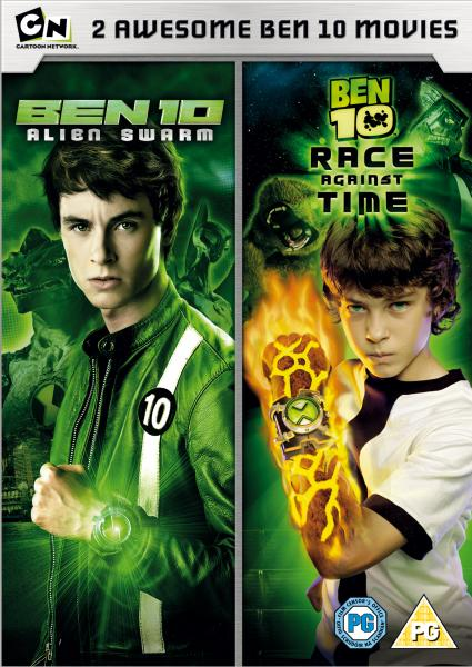 Ben 10: Alien Swarm / Ben 10: Race Against Time DVD ...