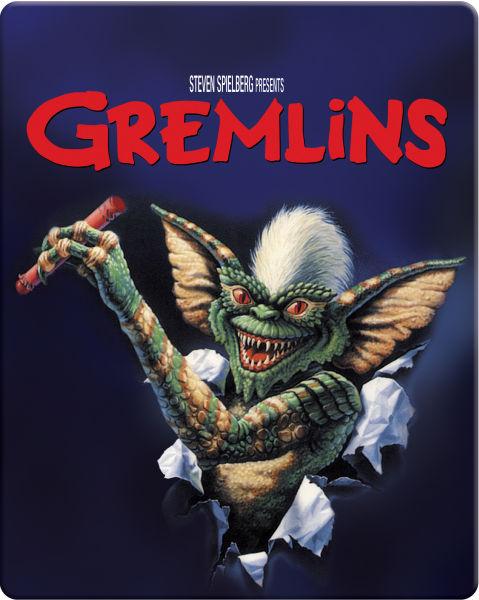 Gremlins Zavvi Exclusive Limited Edition Steelbook Blu