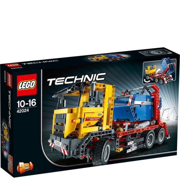 lego technic container truck 42024 toys. Black Bedroom Furniture Sets. Home Design Ideas