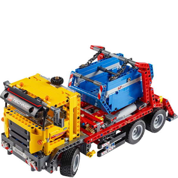 lego technic container truck 42024 iwoot. Black Bedroom Furniture Sets. Home Design Ideas
