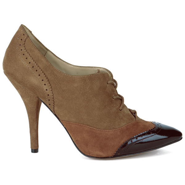 Vivienne Westwood Women's Hetty Suede Heeled Ankle Boots - Brown