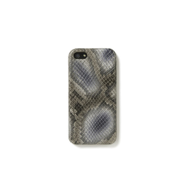 The Case Factory Women's iPhone 5 Case - Snake Metal Asphalt