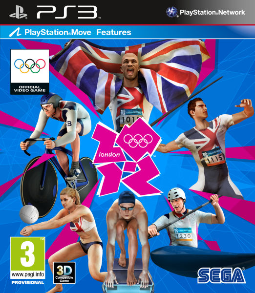 london 2012 the official video game of the olympic games ps3. Black Bedroom Furniture Sets. Home Design Ideas