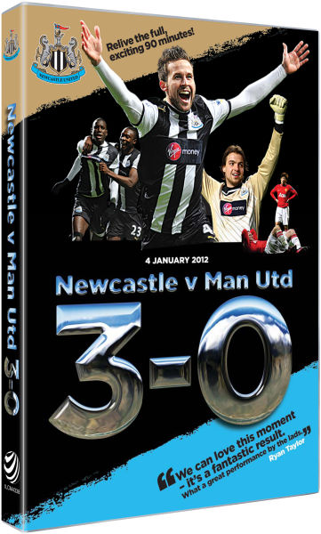 Newcastle united 3 v 0 manchester united 4th january for Interieur sport cabaye