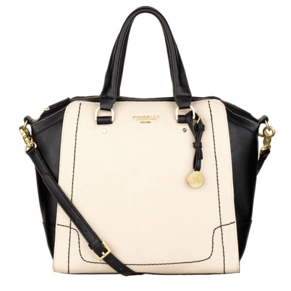 Fiorelli Kenzie Wing Tote Bag - Black/White Womens Accessories ...