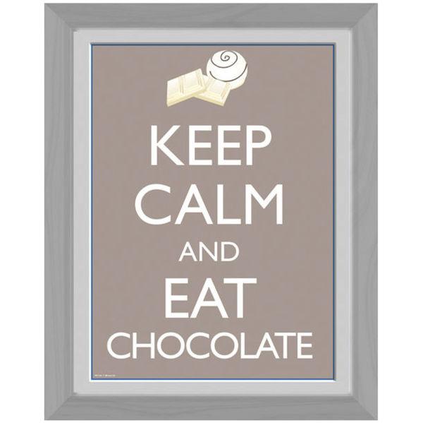 Keep Calm Chocolate - 30 x 40cm Collector Prints