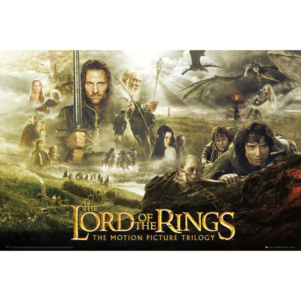 Lord Of The Rings Trilogy - Maxi Poster - 61 x 91.5cm