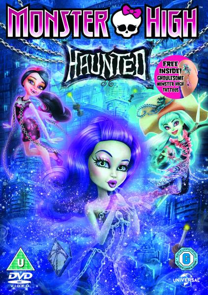 Monster High: Haunted (avec des décalcomanies Monster High)
