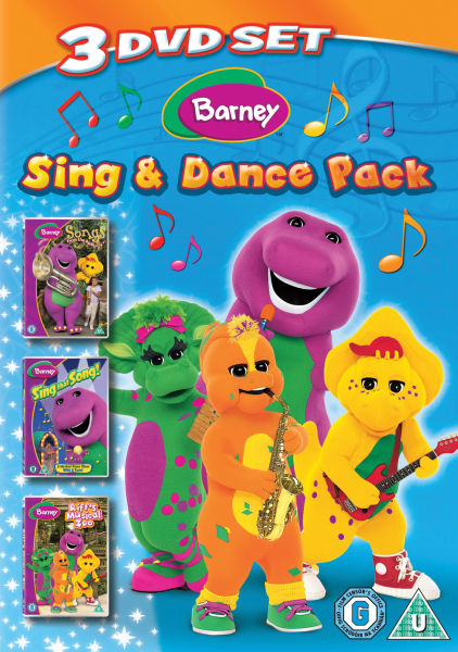 Barney Sing And Dance Pack Songs From The Park Sing