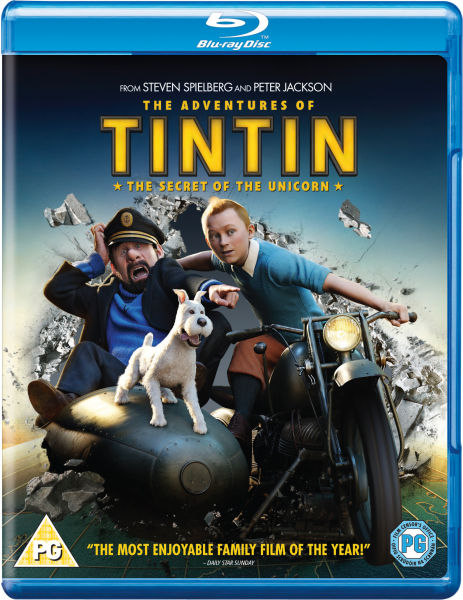 The Adventures of Tintin: The Secret of the Unicorn (Single Disc)