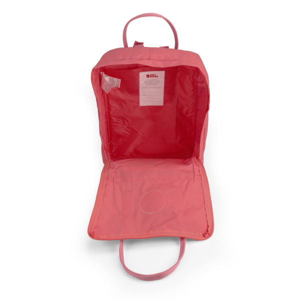 Fjallraven Kanken Backpack Peach Pink Womens Accessories