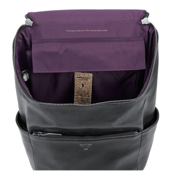 94dfe37acf Matt   Nat Women s Brave Backpack - Black  Image 4