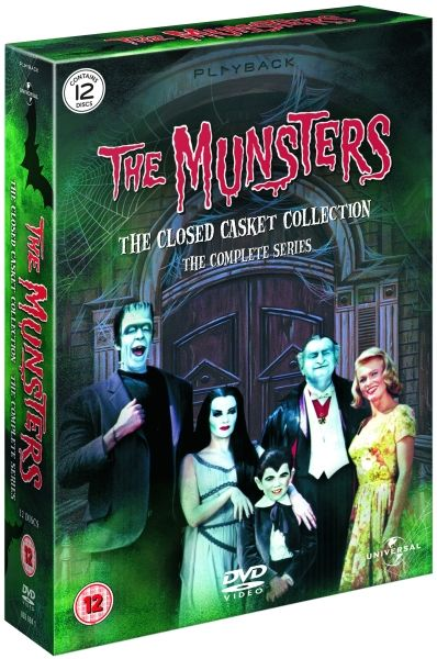 the munsters the complete series dvd zavvi. Black Bedroom Furniture Sets. Home Design Ideas