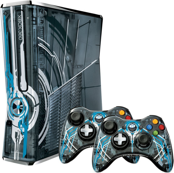 Halo 4 xbox 360 320gb console limited edition games consoles zavvi - The newest xbox 360 console ...