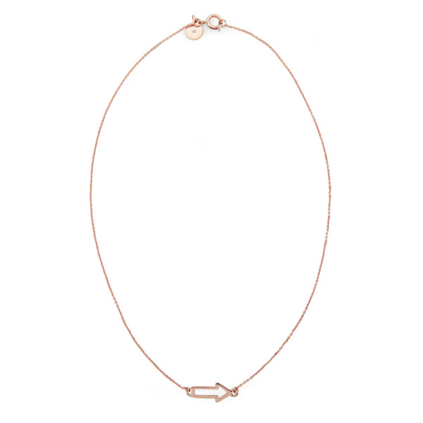 Marc by Marc Jacobs Arrow Necklace - Rose Gold