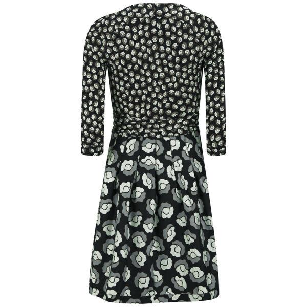 Diane Von Furstenberg Women S Jewel Silk Combo Pleated