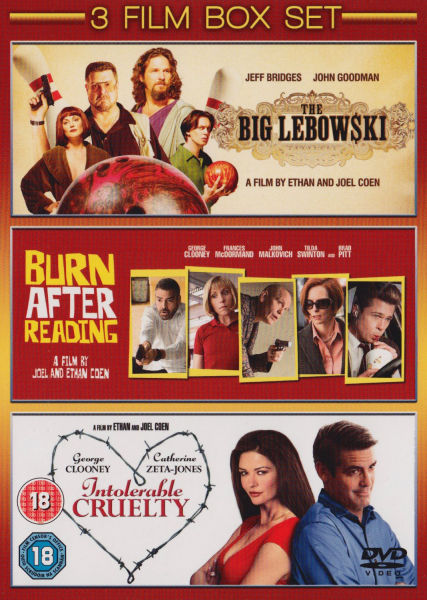 Burn After Reading / The Big Lebowski / Intolerable Cruelty