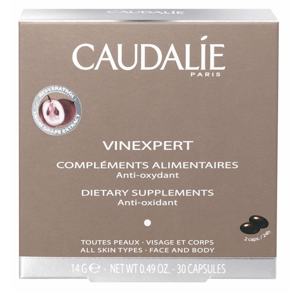 Caudalie Vinexpert Anti-aging Supplements (30 kapsler)