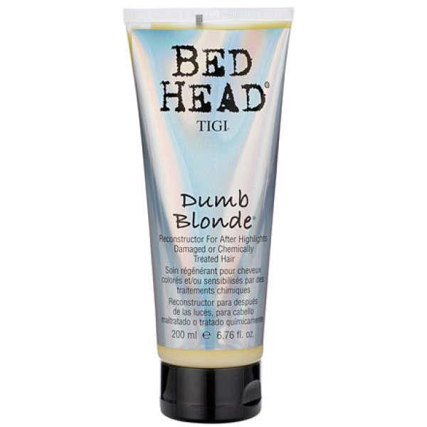 Soin régénérant cheveux colorés et/ou sensibilisés Tigi Bed Head Dumb Blonde 200ml