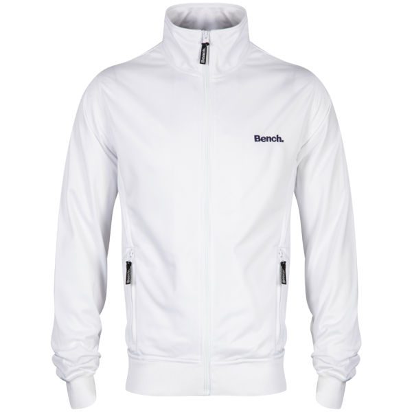 bench men 39 s classic corp track jacket white clothing zavvi. Black Bedroom Furniture Sets. Home Design Ideas