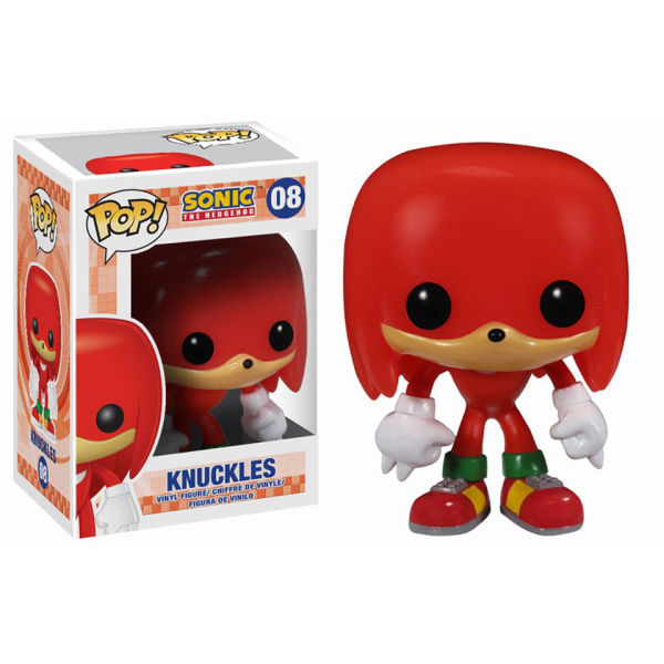 Sonic the Hedgehog Knuckles Pop! Vinyl Figure