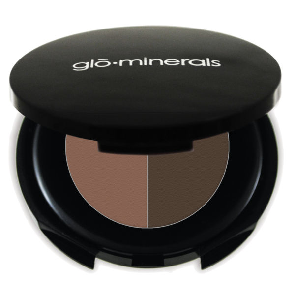 glo minerals Brow Powder Duo - Brown