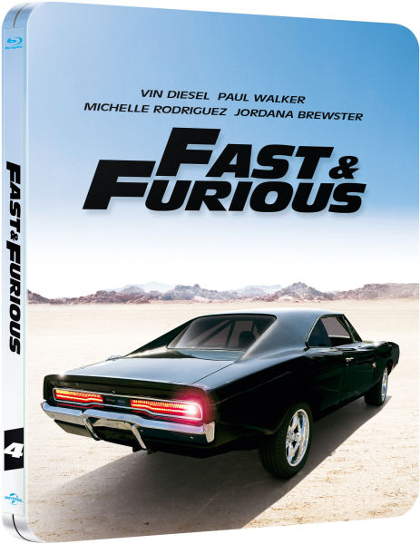 Fast furious zavvi exclusive limited edition steelbook - Virtual diva fast and furious 4 ...