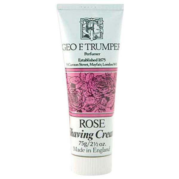 Geo. F. Trumper Trumpers Shave Cream - Rose 75gm Tube