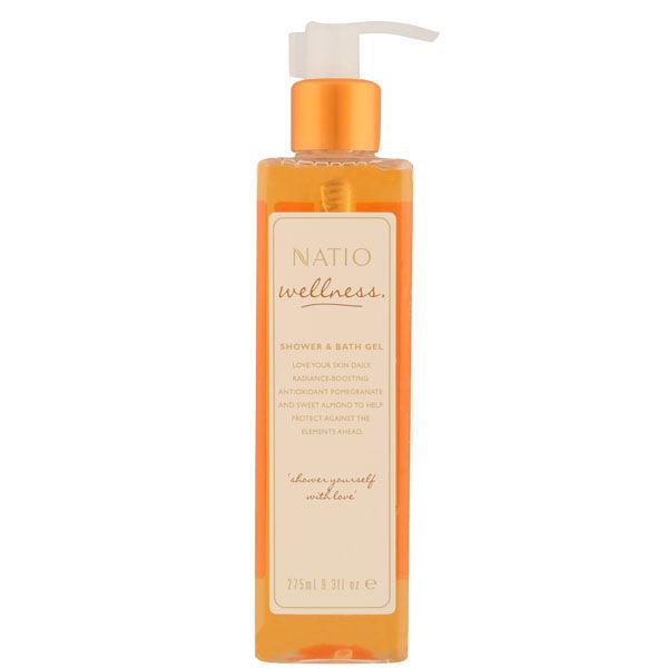 Natio Wellness Shower & Bath Gel (9.3 oz.)