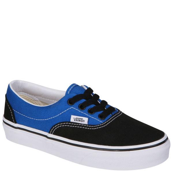 Vans Kids' ERA Canvas Two Tone Trainers - Black/ Snorkel Blue