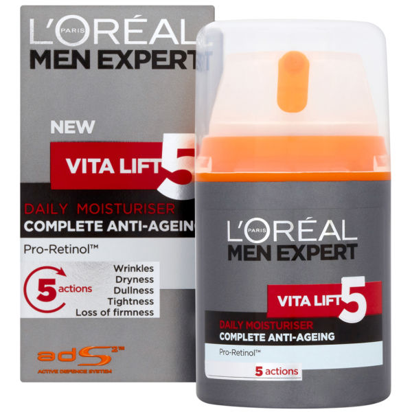 Vita Lift 5 Daily Moisturiserde L'Oreal Paris Men Expert (50ml)