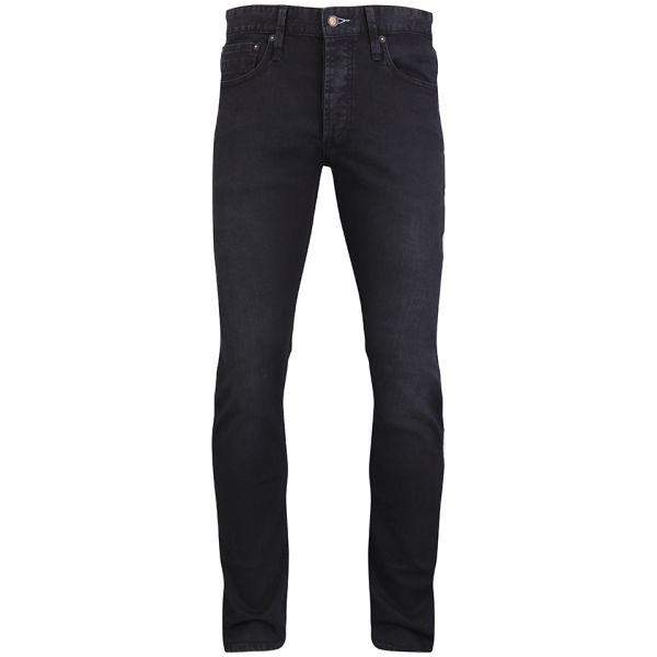 Denham Men's Bolt DBS Mid Rise Skinny Jeans - Black