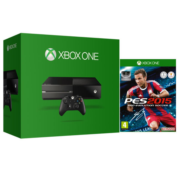 Xbox One (Without Kinect) with PES 2015: Pro Evolution Soccer
