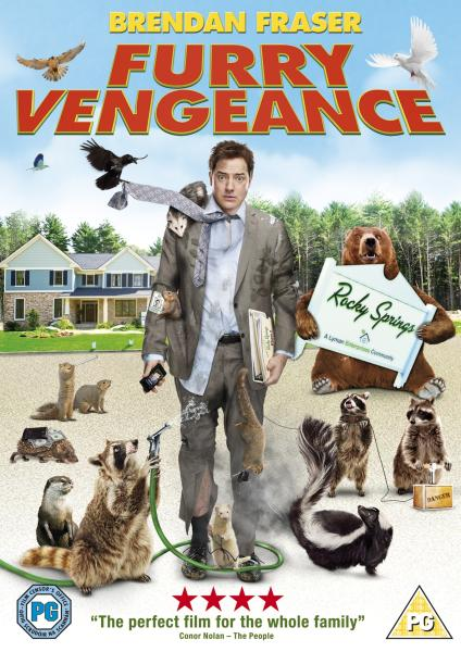 Furry Vengeance DVD | Zavvi