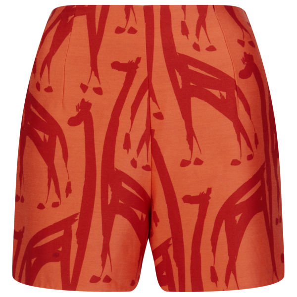 Orla Kiely Women's Shorts - Vermillion