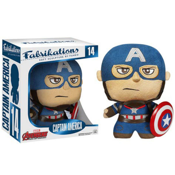 Marvel Avengers: Age of Ultron Captain America Fabrikations Plush Figure