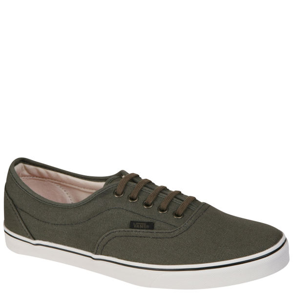 Vans LPE Canvas Trainers - Olive Night/Marshmallow
