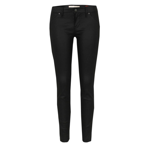 Marc by Marc Jacobs Women's M1122923 Seamed Skinny Ankle Abyss Jeans - Black