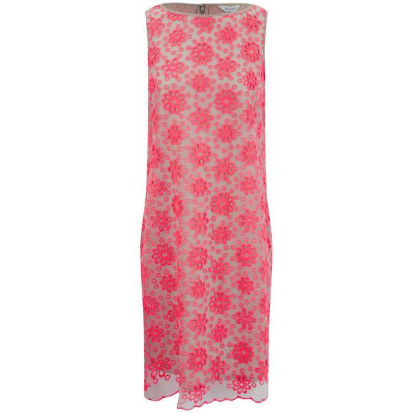 Great Plains Women's Daisy Maisie Embroidery Dress - Geranium