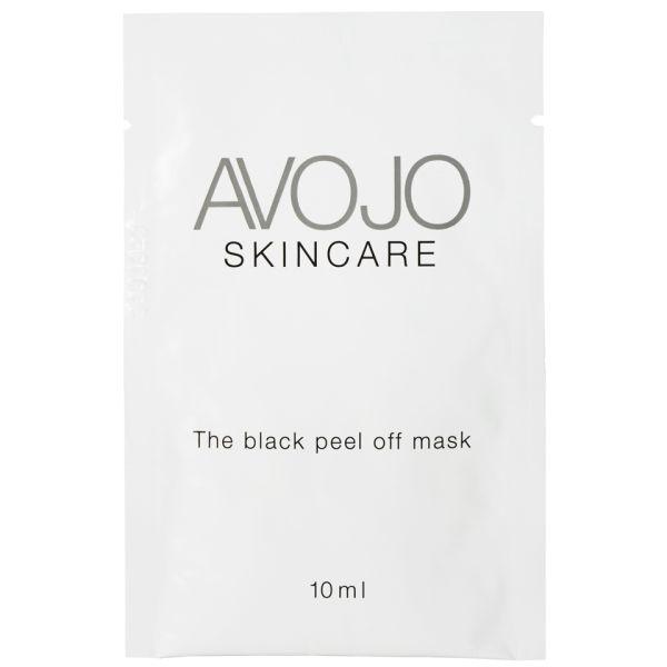 Avojo - The Black Peel Off Mask - Sachet (.3oz x 4)