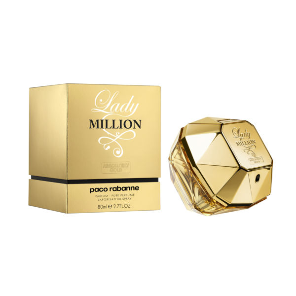 Paco Rabanne Lady M Absolutely Gold Parfum (80ml)