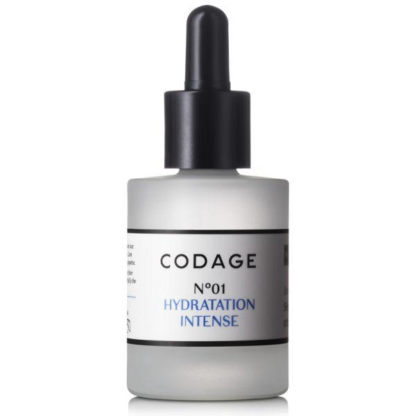 CODAGE serum N.01 iNtense Moisturizing sérum hydratant.