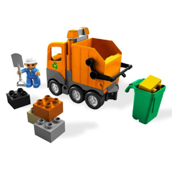 Lego Duplo Garbage Truck 5637 Toys Thehut Com