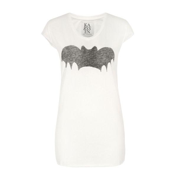 Zoe Karssen Women's 011 Bat T-Shirt - Optical White