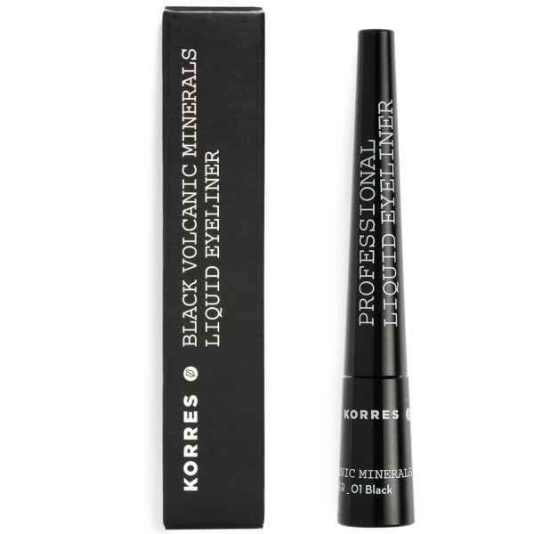 KORRES Flytende Eyeliner Minerals - Black