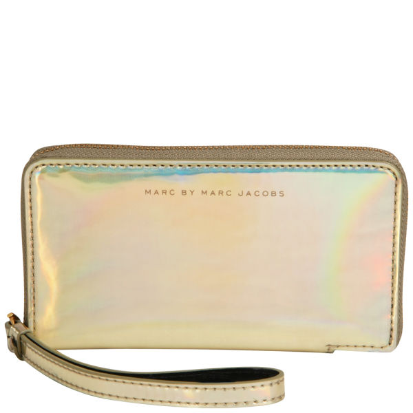 Marc by Marc Jacobs Wingman Purse - Pale Gold Holographic - One Size