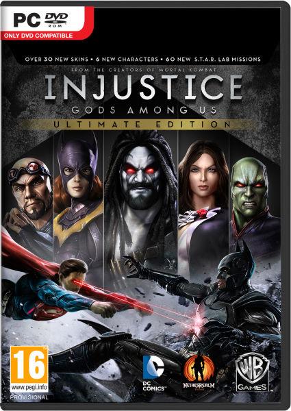 скачать игру Injustice на компьютер через торрент - фото 10