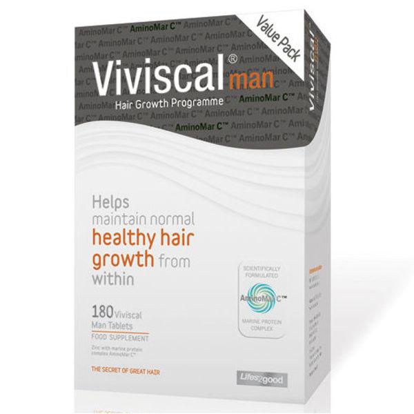 Viviscal Man 3 Month Supply (180 Tabs)