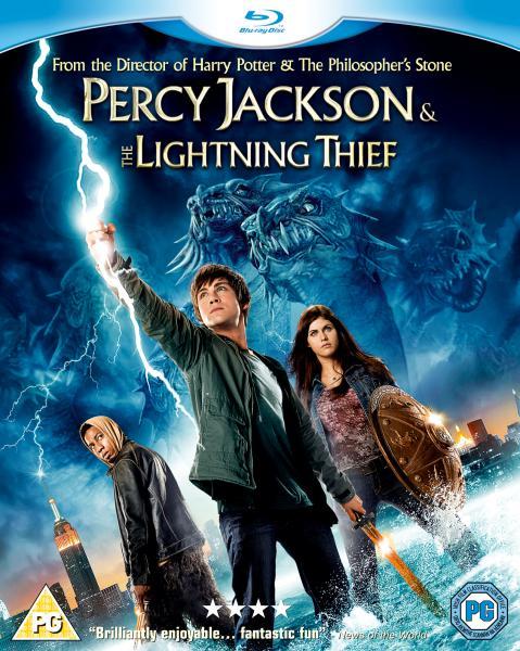 Percy Jackson And The Lightning Thief Blu Ray Zavvi