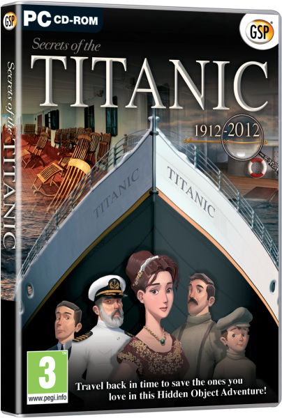 Secrets Of The Titanic 1912 2012 Pc Zavvi